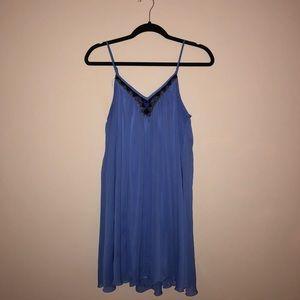Flowy Indigo Dress